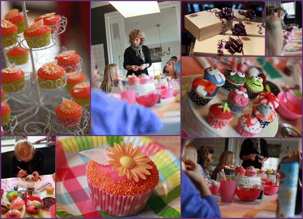 Kinderfeestje Taarten van Tante Jans